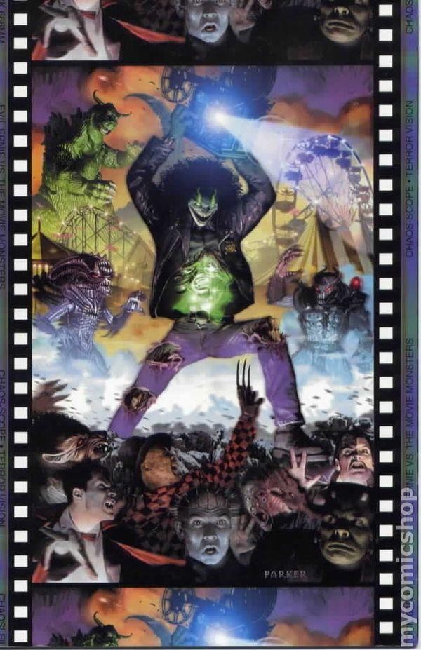 evil ernie vs  the movie monsters  1997  comic books