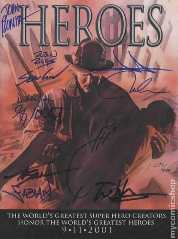 Heroes 2001 Marvel 1DFSIGNED Comic books in