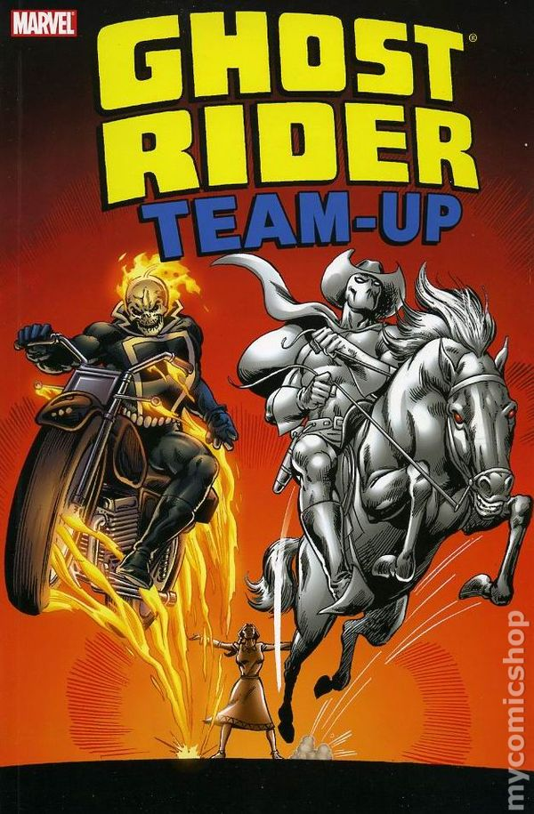 Ghost Rider Team-Up TPB (2007 Marvel) comic books