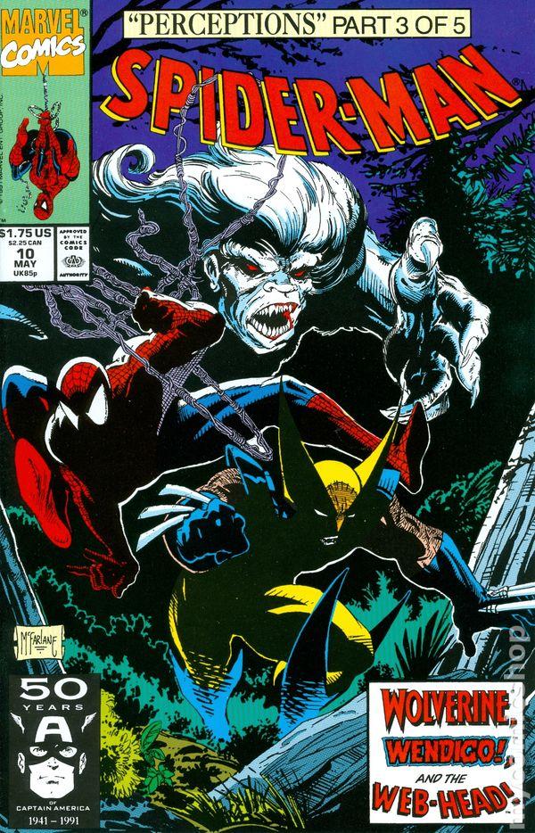 spiderman 1990 comic books