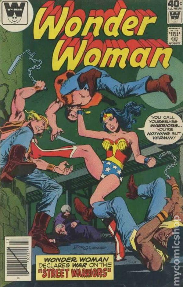 Wonder Woman 1942 1St Series Whitman Comic Books-7078
