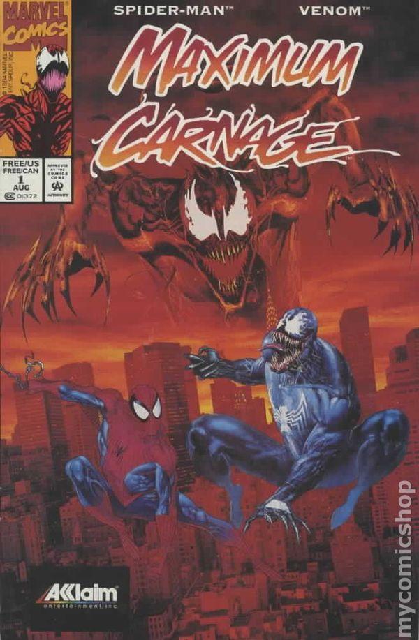 Maximum Carnage 1994 Comic Books