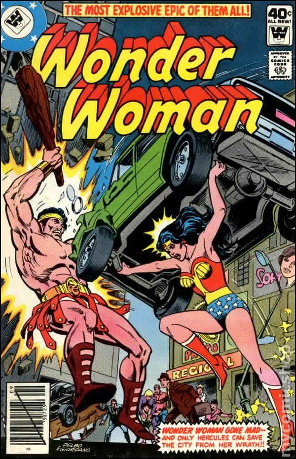 Wonder Woman 1942 1St Series Whitman Comic Books-3569