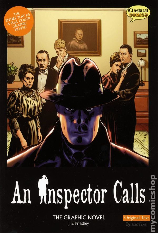the impressionability of youth an inspector calls by j b priestly Jb priestley demonstrates the differences in attitude of the younger generation and older generation by presenting them taking eric's youth into.