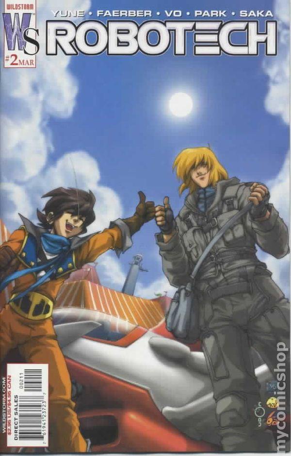 Robotech #3 April 2003 Wildstorm DC Comics Yune Faerber Vo Park Saka