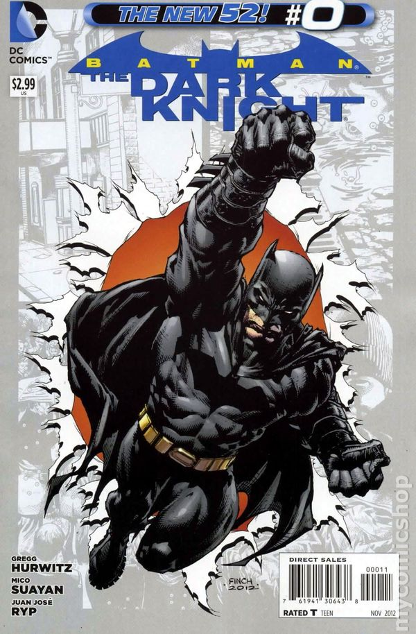 Batman Dark Knight Comic Book