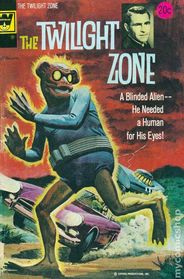 Book Cover Art Zone : Twilight zone whitman comic books