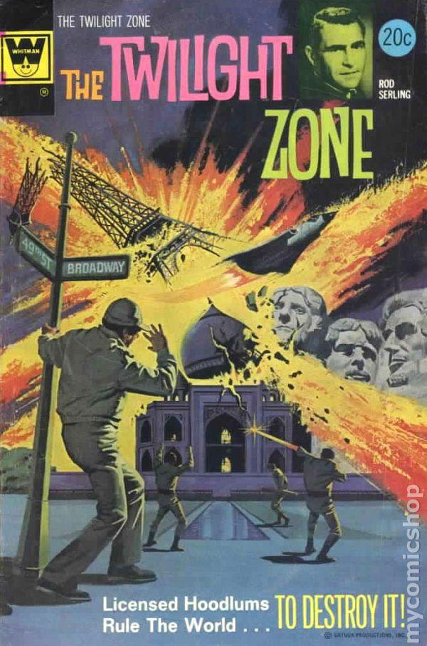 Twilight Zone (1962 Whitman) comic books