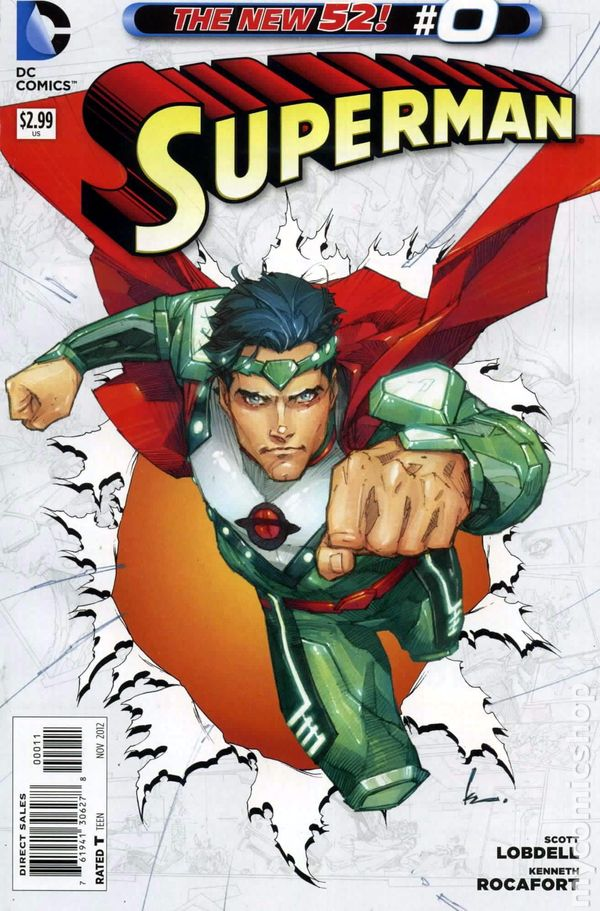 Superman 2011 3rd Series 0A Superman comic