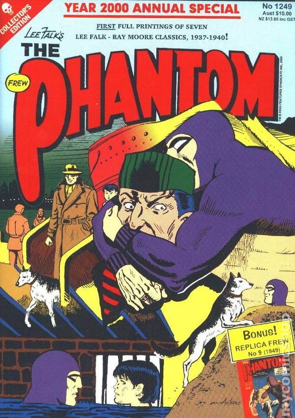 The Phantom #1249 2000 Annual Special With Replica #9 Huge 300 + Pages