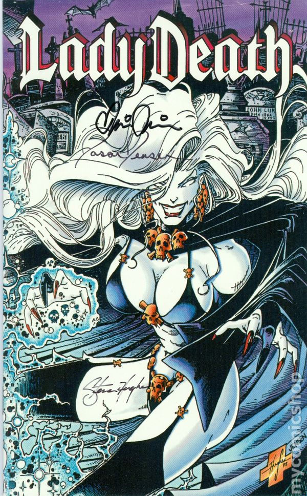 lady death ashcan 1995 comic books