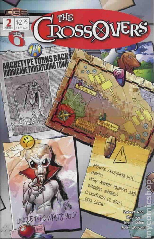 Crossovers 2003 Comic Books