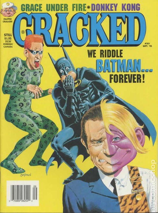 Cracked 1958 Major Magazine Comic Books