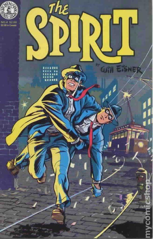 Spirit (1983 Kitchen Sink) comic books