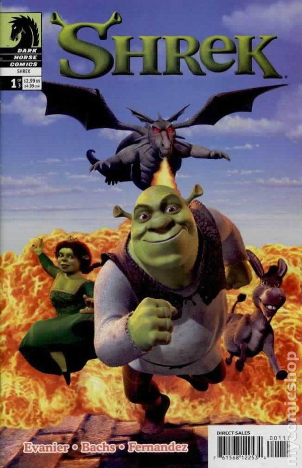 Shrek 2003 Comic Books