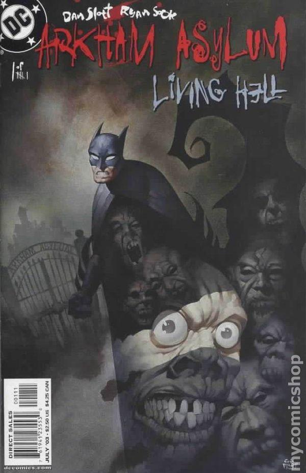 Arkham Asylum Living Hell #2 FN 2003 Stock Image
