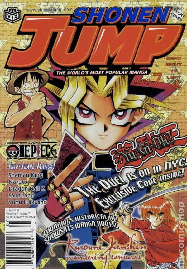 Shonen Jump 2003 Comic Books