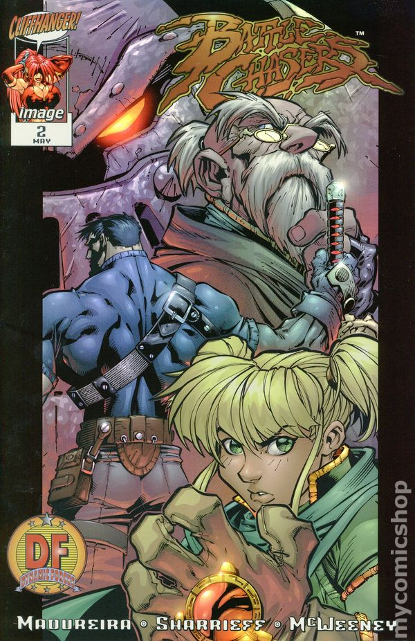 Battle Chasers 1998 series # 4 A near mint comic book