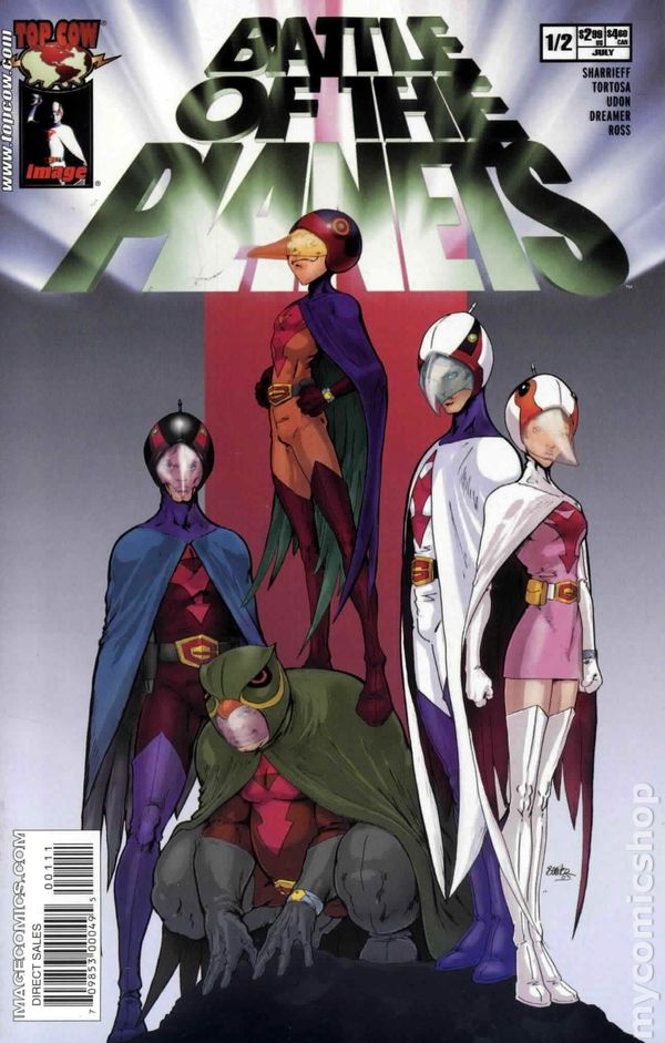 Battle of the Planets #1//2 NM  Image 0.5 Wizard Send-Away Version Comic Book