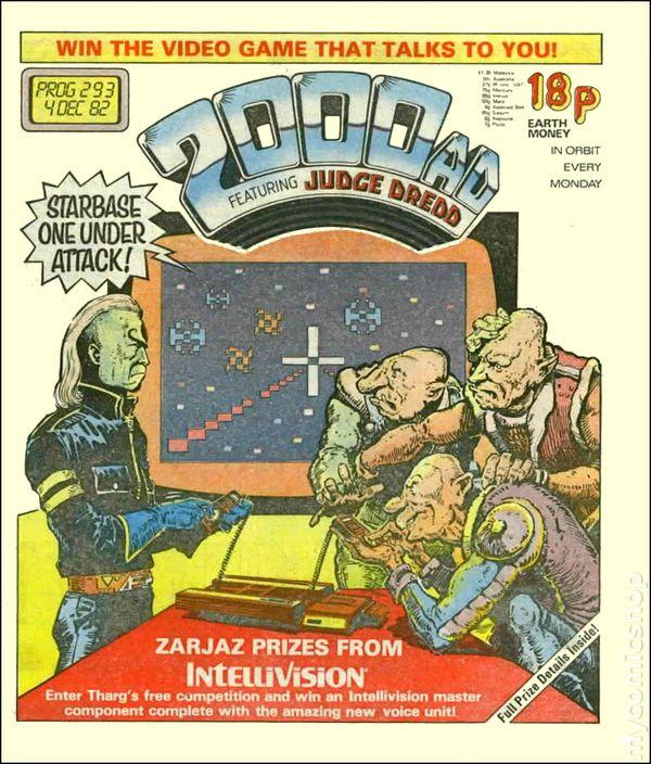 Free Comic Book Day Uk Store Locator: Comic Books December 1982