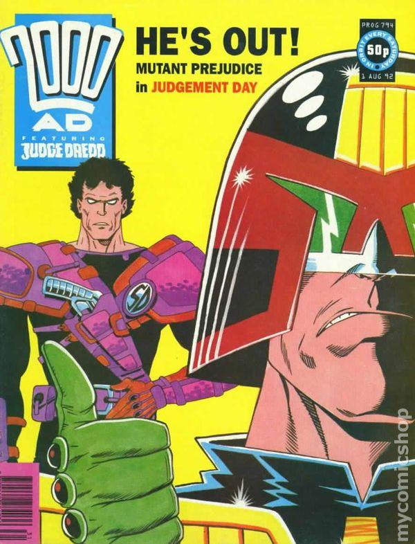 Comic Books August 1992