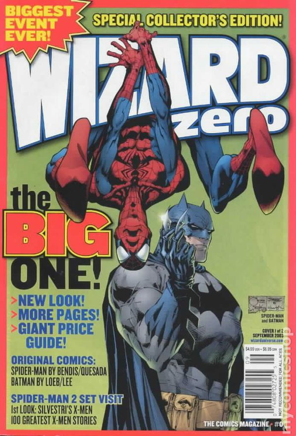 Wizard the Comics Magazine 1991 0A Wizard
