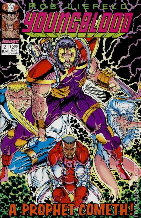 Youngblood (1992 1st Series) comic books