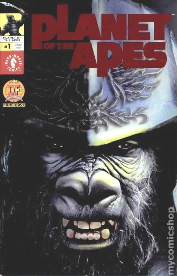 Planet Of The Apes 2001 Dark Horse Comic Books