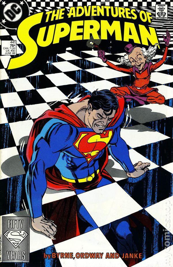 Adventures of Superman #446 1988 FN Stock Image