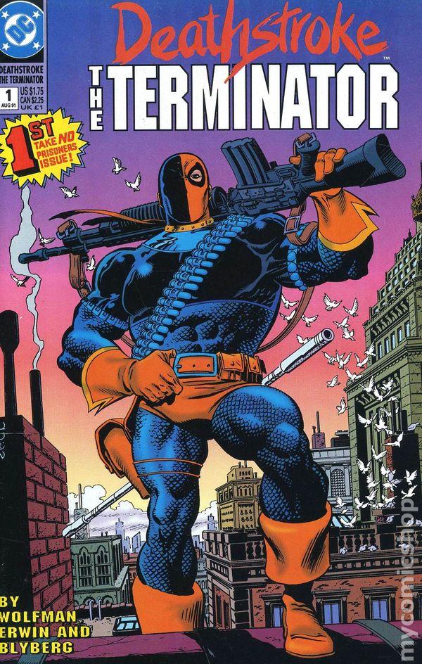 Deathstroke The Terminator Comic Books