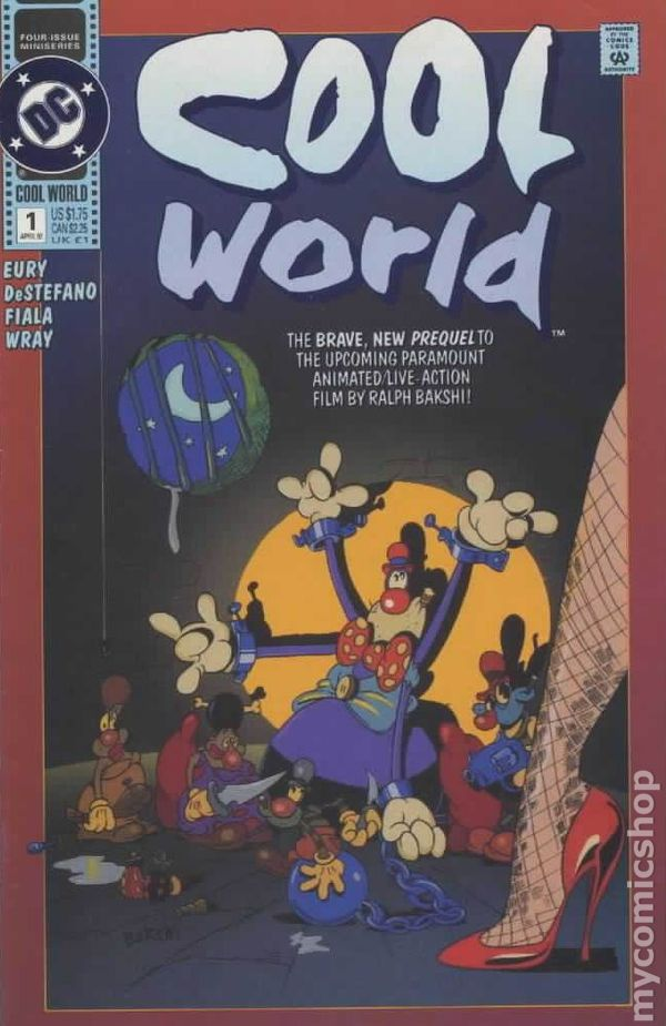 Cool World 1992 Comic Books In Related To Non Animated Movie Tv