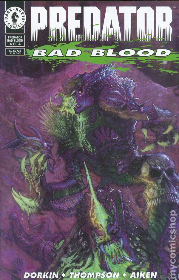 Predator Bad Blood (1993) comic books