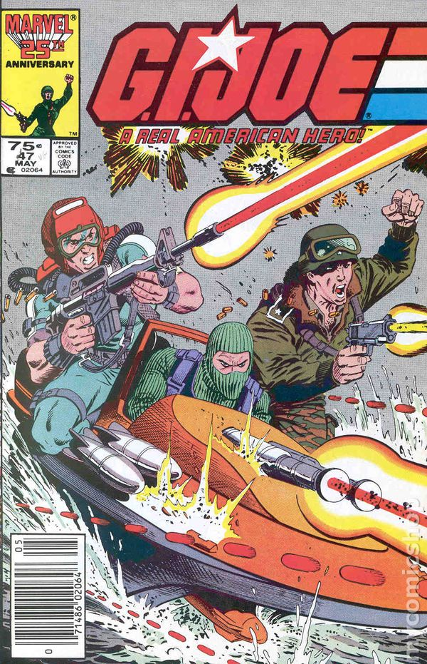 Gi Joe  1982 Marvel  Comic Books