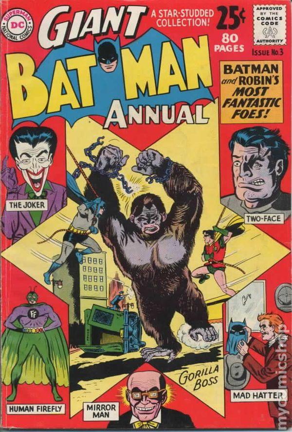 Batman (1940) Annual comic books