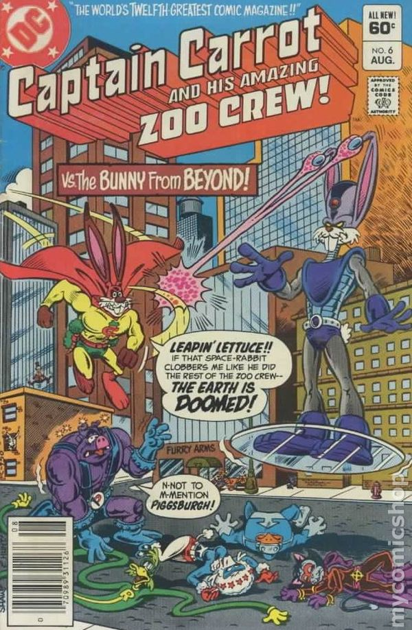 Captain Carrot 1982 Comic Books-4482