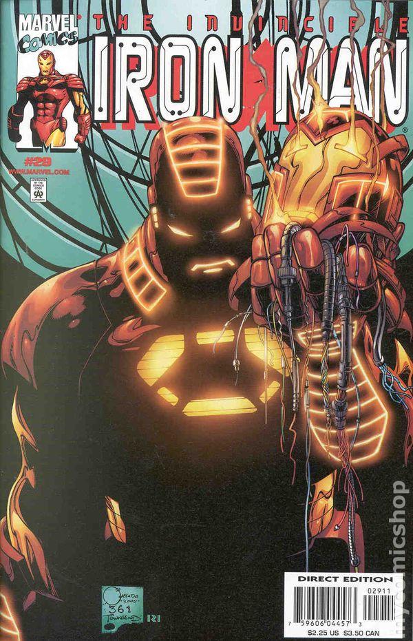 Iron Man Comic Books Issue 29