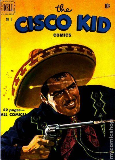 Cisco Kid 1951 Dell Comic Books