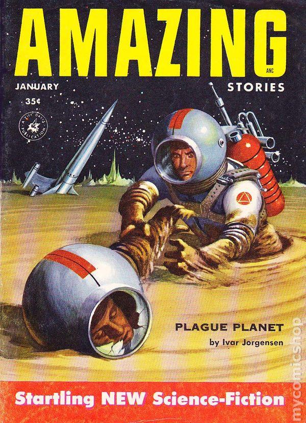 Amazing Stories Volume 21 Number 06: Comic Books In 'Pulp Magazine/Digest