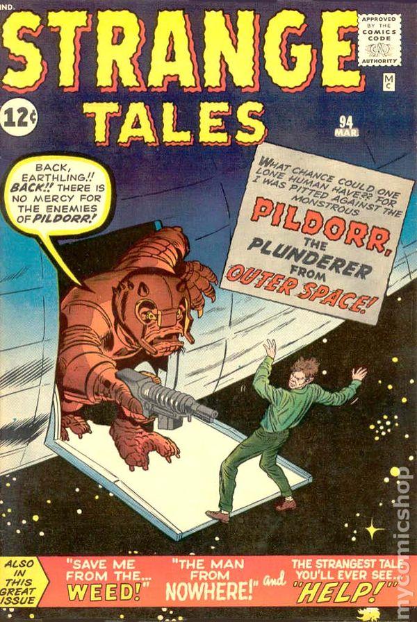 "3 FEET STRANGE TALES 1963 Asbestos Man NET /& SHIELD = POSTER Comic 8 SIZES 17/"""