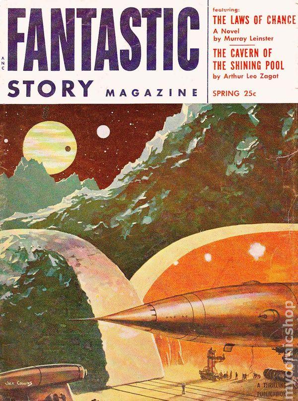Fantastic Story Magazine 1950 Pulp Comic Books: Fantastic Story Magazine (1950-1955 Best Books) Comic Books