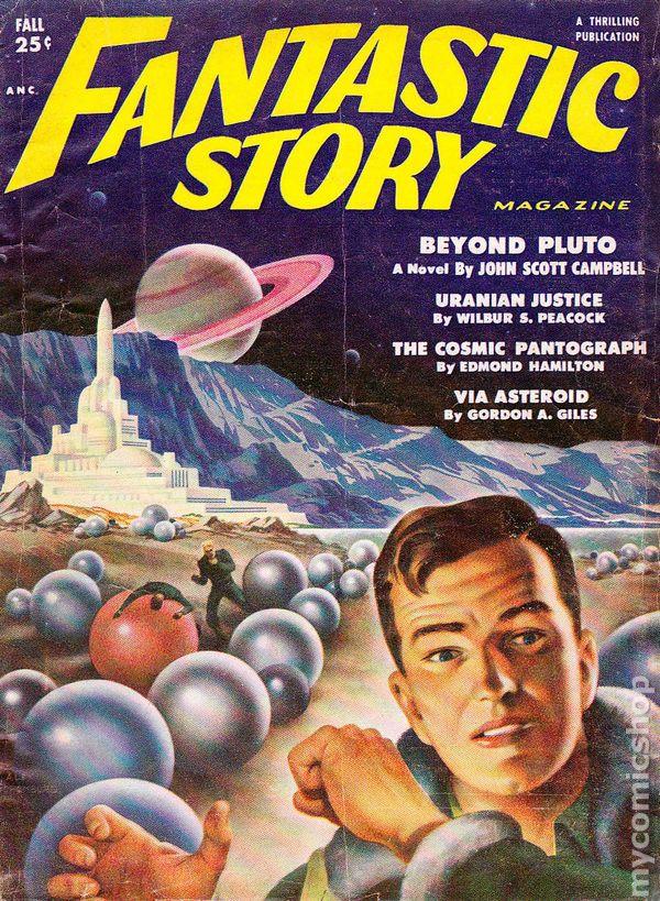 Fantastic Story Magazine (1950 Pulp) Comic Books