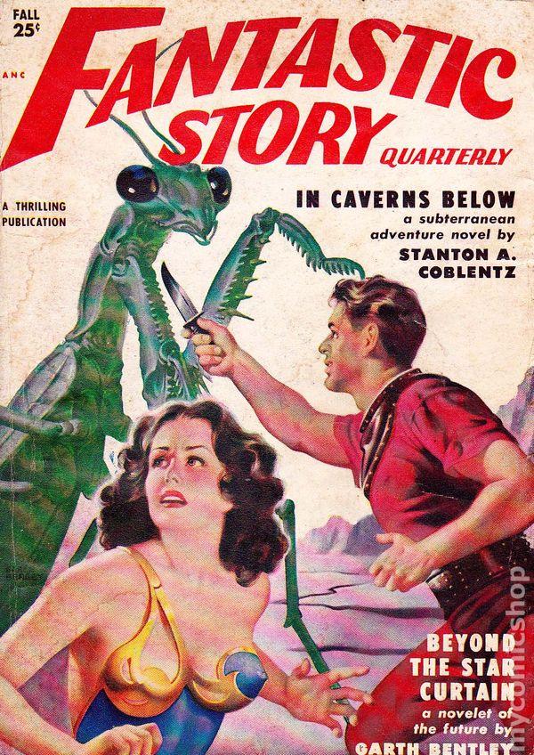 Fantastic Story Magazine 1950 Pulp Comic Books: Fantastic Story Magazine (1950 Pulp) Comic Books