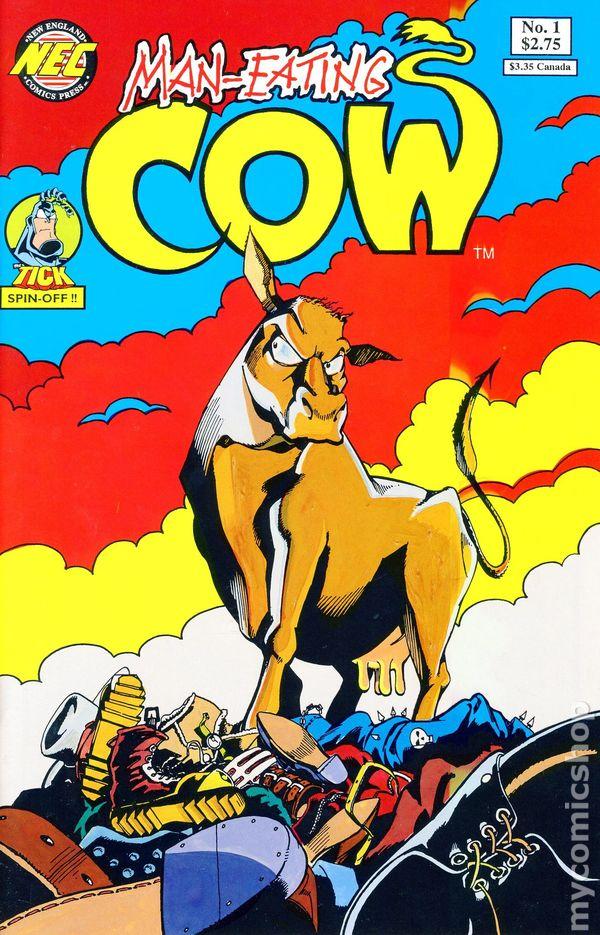 Man Eating Cow 1992 Comic Books