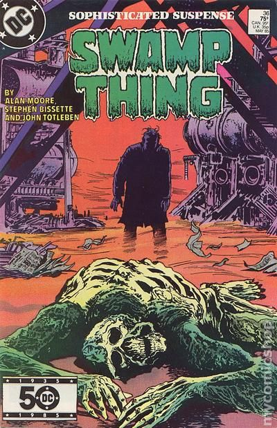 Swamp Thing 1982 2nd Series Comic Books