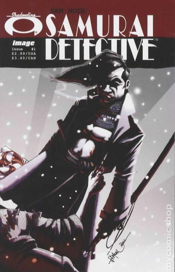 Sam Noir Samurai Detective 2006 Comic Books