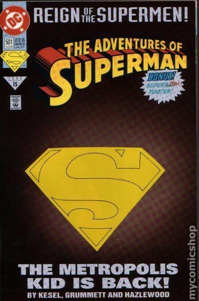 Adventures of Superman #501D