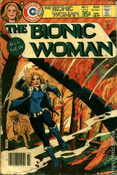 Bionic Woman (1977 Charlton) comic books