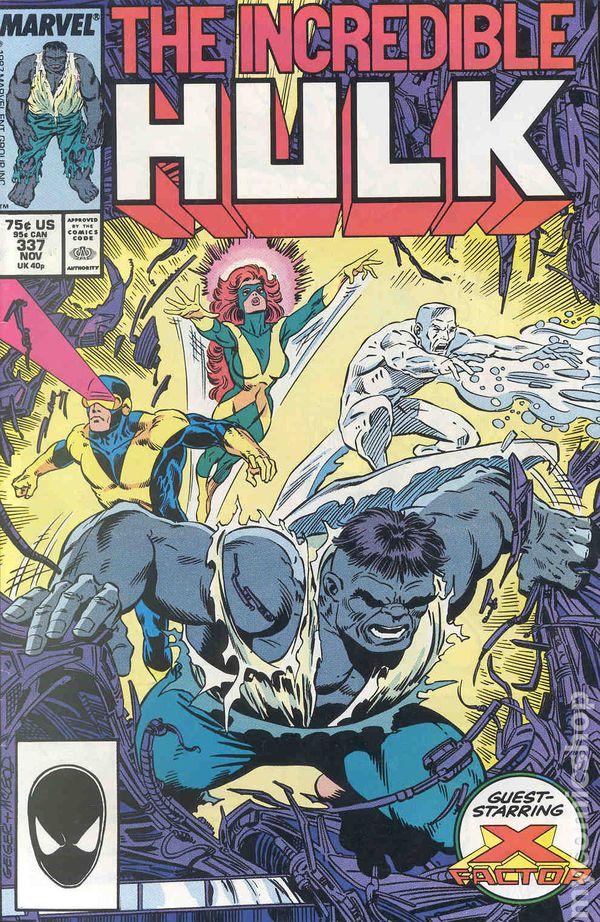 Avengers #337 FN 1991 Stock Image