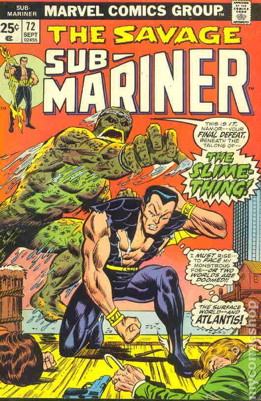 Comic Books In Aquamansub Mariner Crossover