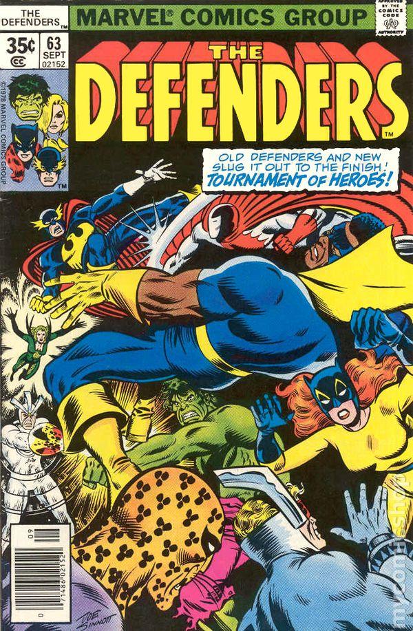defenders 1972 1st series comic books